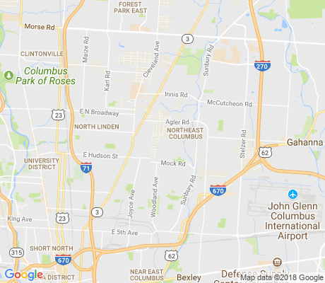 map of Arlington Park apartments for rent