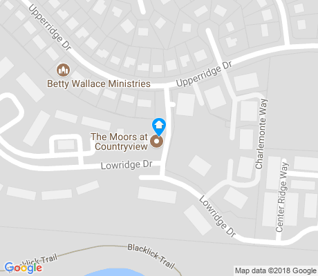map of Brice apartments for rent
