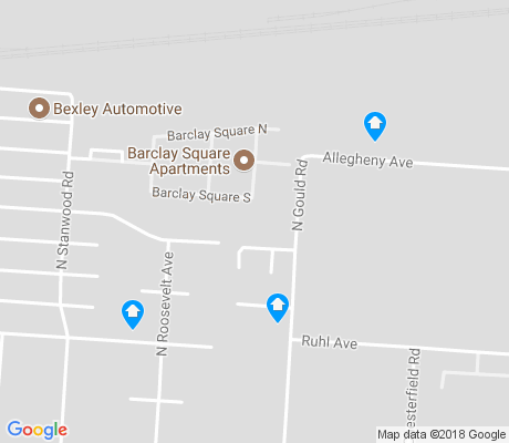 map of Broadleigh apartments for rent