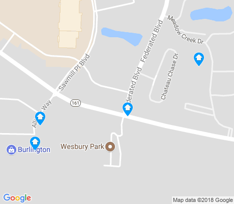 map of Don Scott apartments for rent