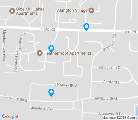 map of Foxboro apartments for rent