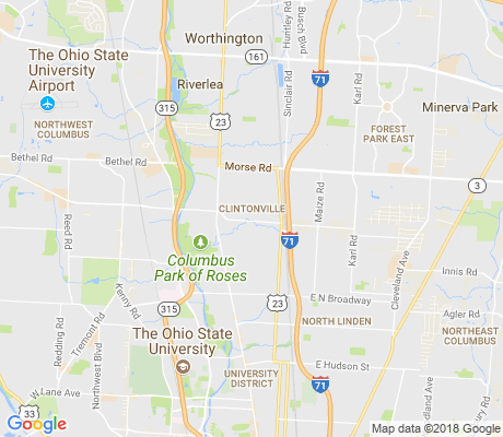 map of Indian Springs apartments for rent