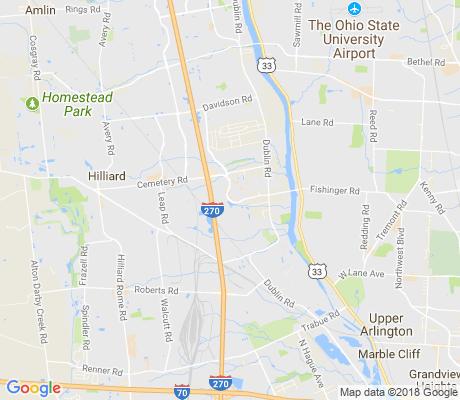 map of Mill Run apartments for rent