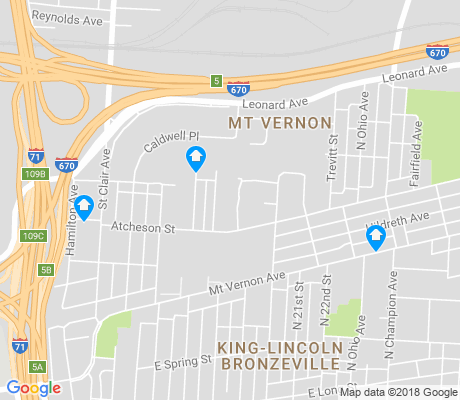 map of Mount Vernon apartments for rent