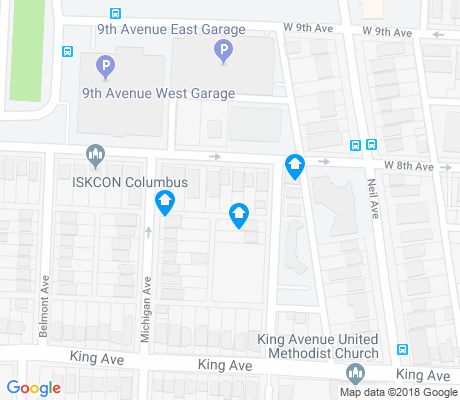 map of Necko apartments for rent