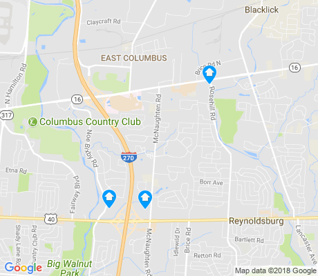 map of Olde Orchard apartments for rent