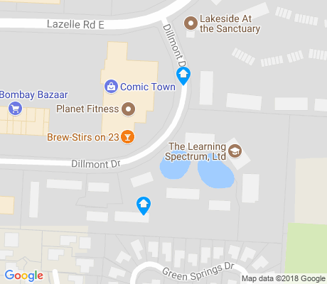 map of Springbourne apartments for rent
