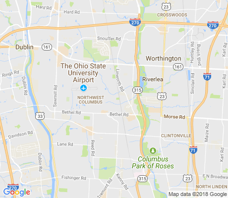 map of Sycamore Hills apartments for rent
