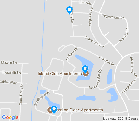 map of The Gables apartments for rent