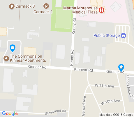 map of West Campus apartments for rent