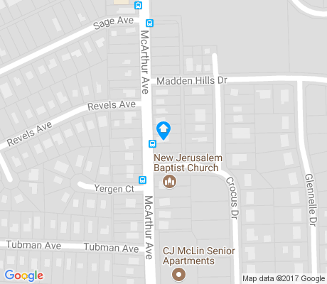 map of Highview Hills apartments for rent