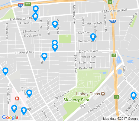 map of Lagrange apartments for rent
