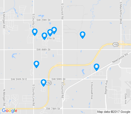 map of 73179 apartments for rent