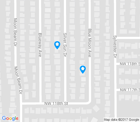 map of Blueridge apartments for rent