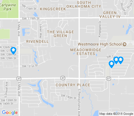 map of Brandywine apartments for rent