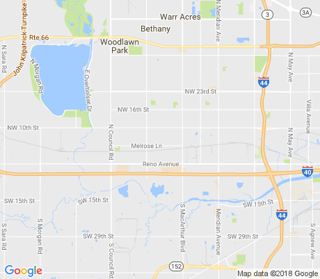 map of Briarwood Estates apartments for rent