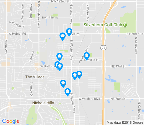 map of Britton apartments for rent