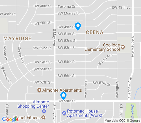 map of CEENA apartments for rent