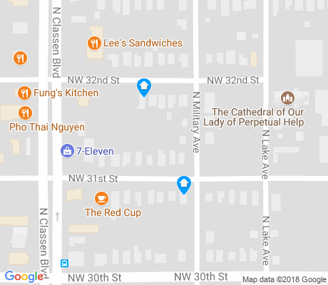 map of Corridor South apartments for rent