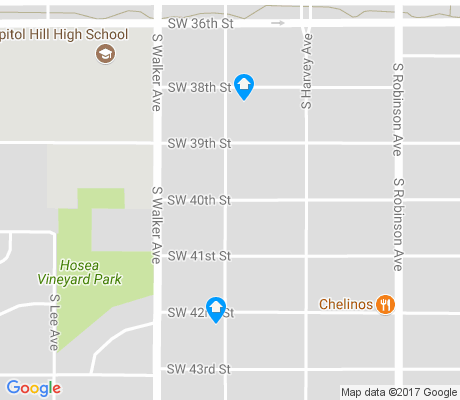 map of Draper Park apartments for rent