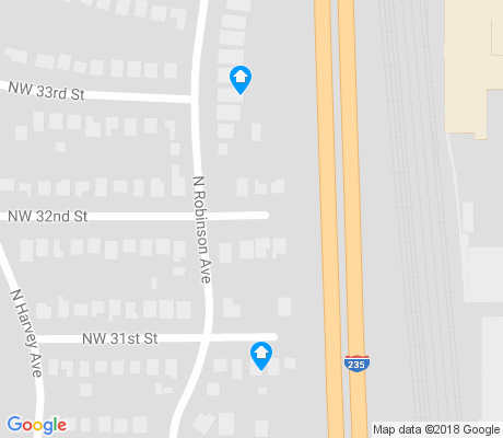 map of Edgemere Park apartments for rent