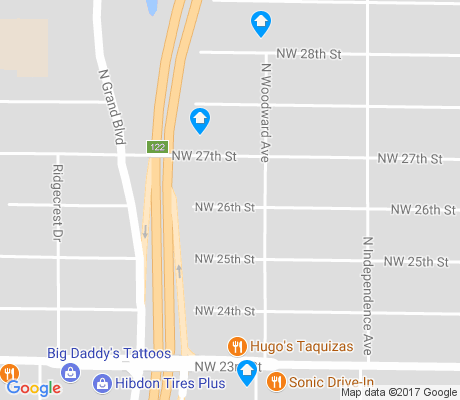 map of Grand Portland apartments for rent