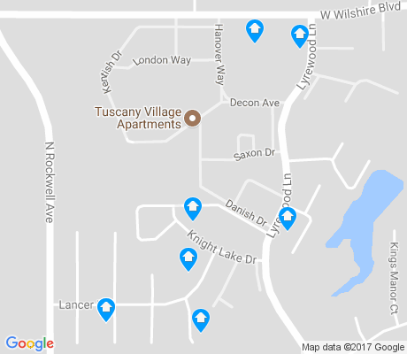 map of Knights Lake apartments for rent