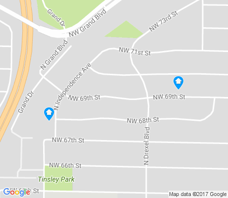 map of Lakeside apartments for rent