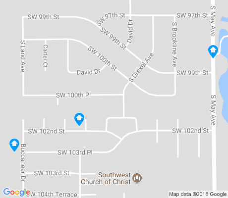 map of Mayfield apartments for rent