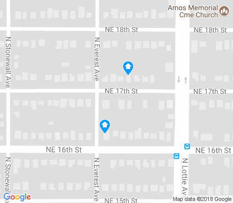 map of Medical Community apartments for rent