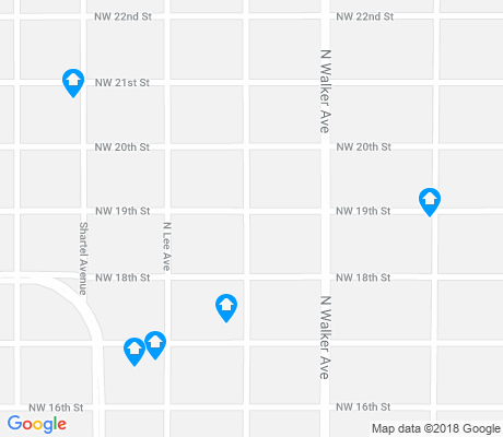 map of Mesta Park apartments for rent