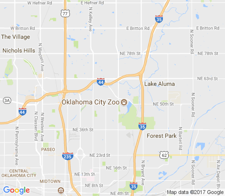 map of Park Estates North apartments for rent