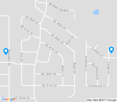 map of Parkview apartments for rent