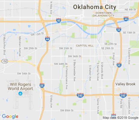 map of Rancho Village apartments for rent