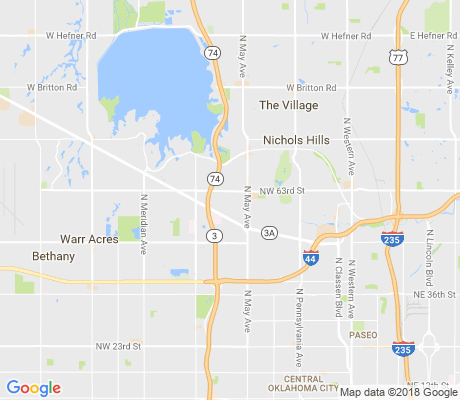 map of Roberts-Crest apartments for rent