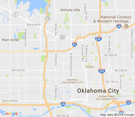map of Sequoyah apartments for rent