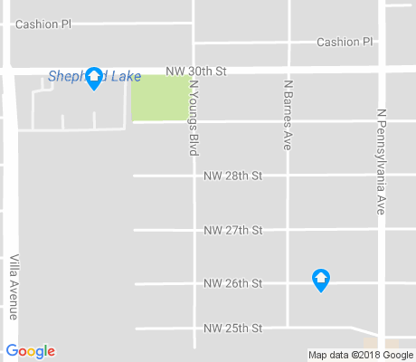 map of Shepherd Historic District apartments for rent