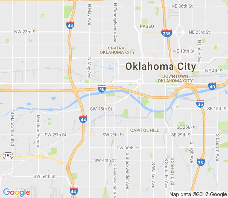 map of Stockyards City Main Street apartments for rent