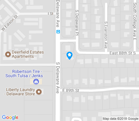 map of Cedarcrest apartments for rent
