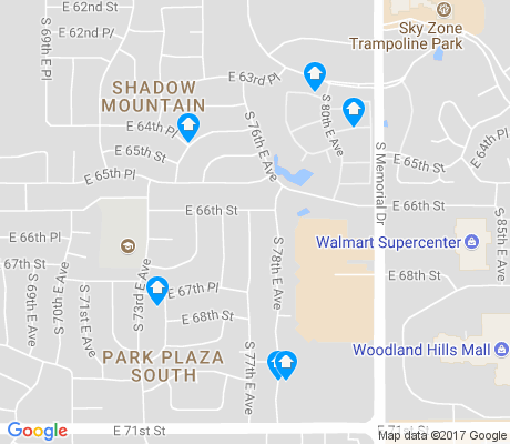 map of Shadow Mountain apartments for rent