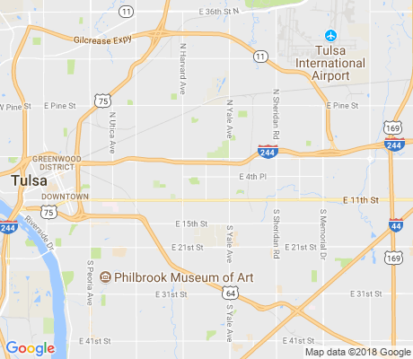 map of Turner Park apartments for rent