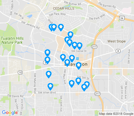 Central Beaverton Beaverton Apartments for Rent and Rentals Walk Score