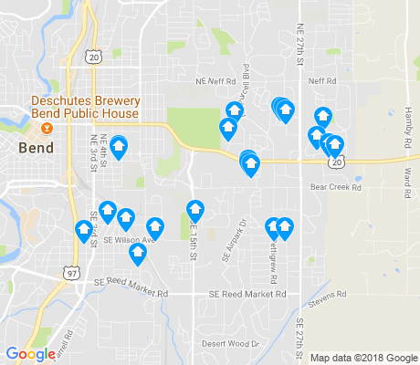 map of Larkspur apartments for rent