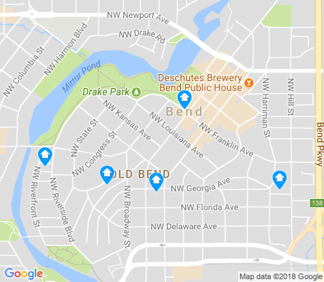 map of Old Bend apartments for rent
