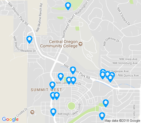 map of Summit West apartments for rent