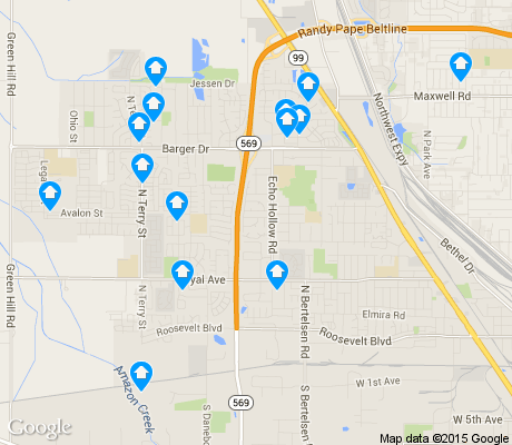 map of Active Bethel apartments for rent