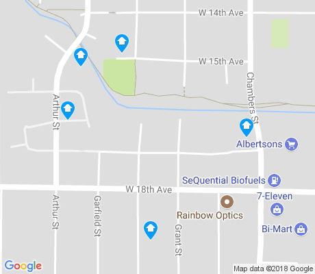 map of Far West apartments for rent