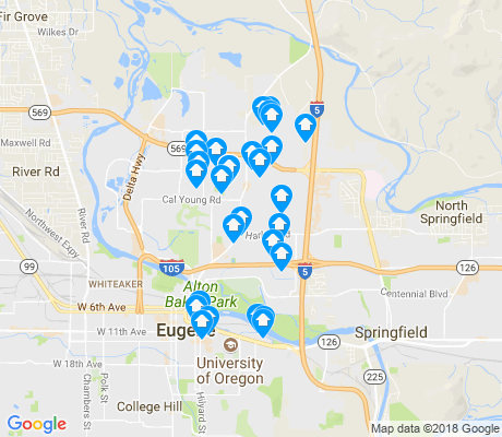 map of Harlow apartments for rent