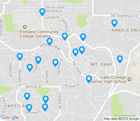 map of Mt. Park apartments for rent
