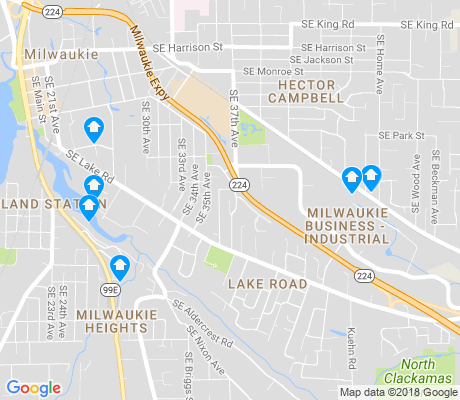 map of Lake Road apartments for rent